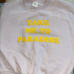 Zara Shirts & Tops - Take 💚💚me to Paradise sweater